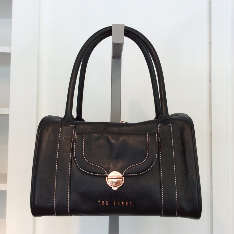 TED BAKER Leather Top Handle Bag