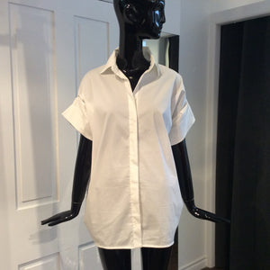 MAX MARA White Cotton Shirt