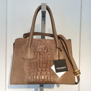 MIA TOMAZSI Leather Tote/Crossbody Bag
