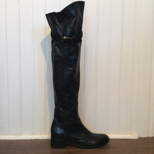 LE PEPE Leather Knee-high Boots
