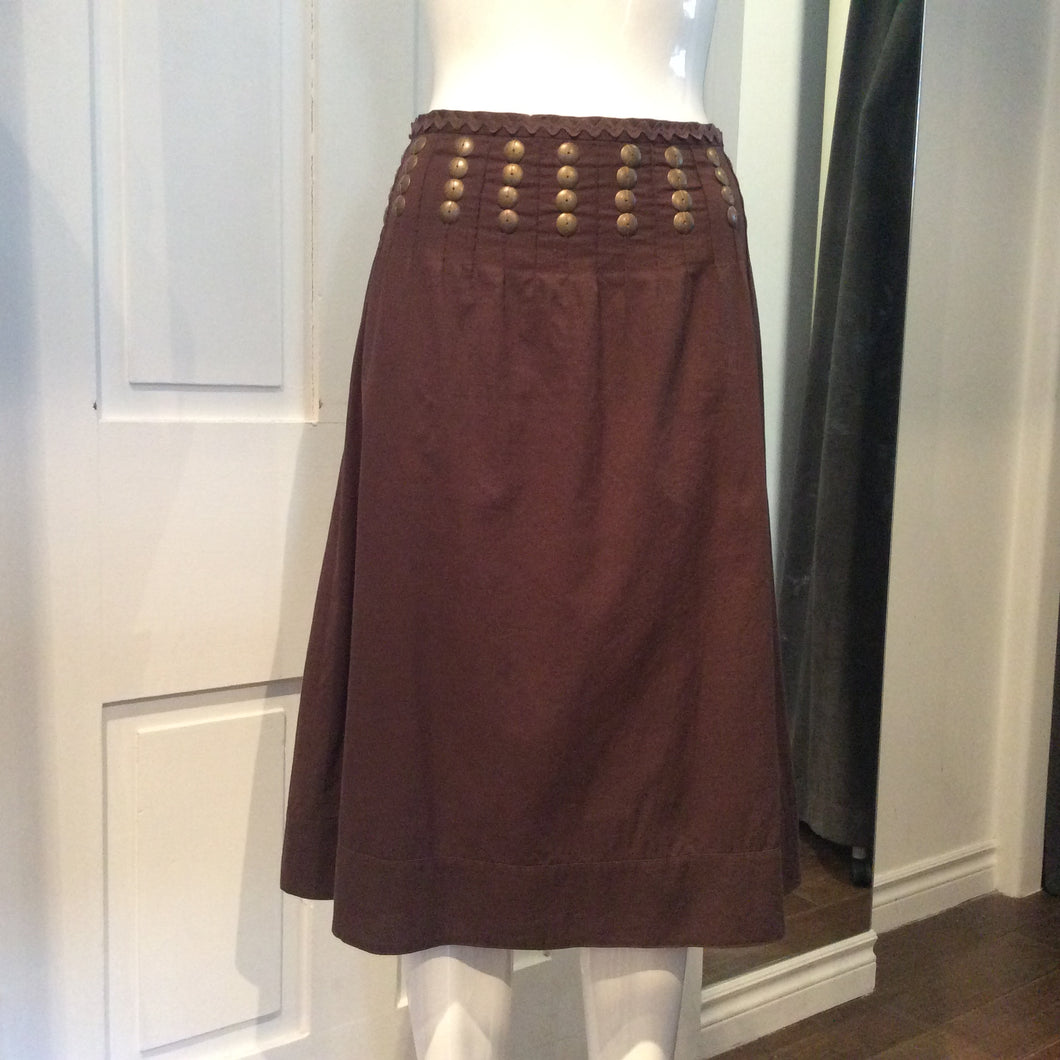 TORY BURCH Linen Skirt