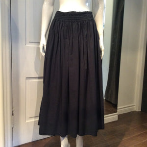 GIANFRANCO FERRE Elastic Waist Cotton Skirt