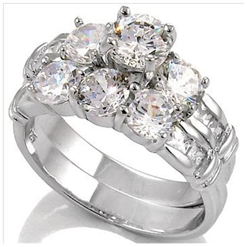 baskets gold round pid total vintage engagement style rings ring wedding white f three diamond carat stone with