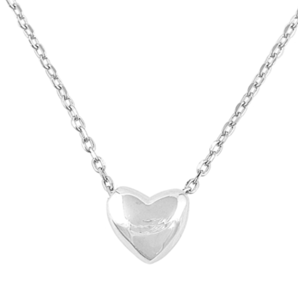 Womens and girls heart necklace