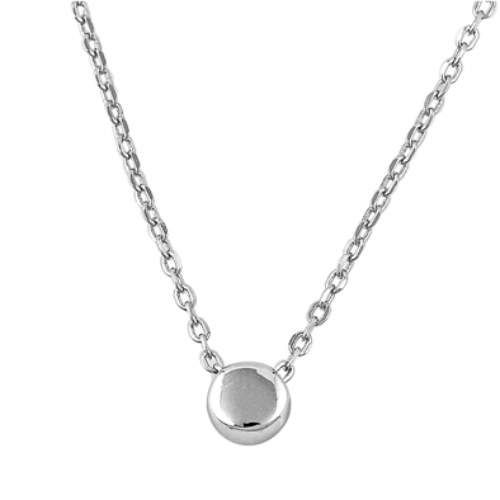 Womens and girls circle necklace