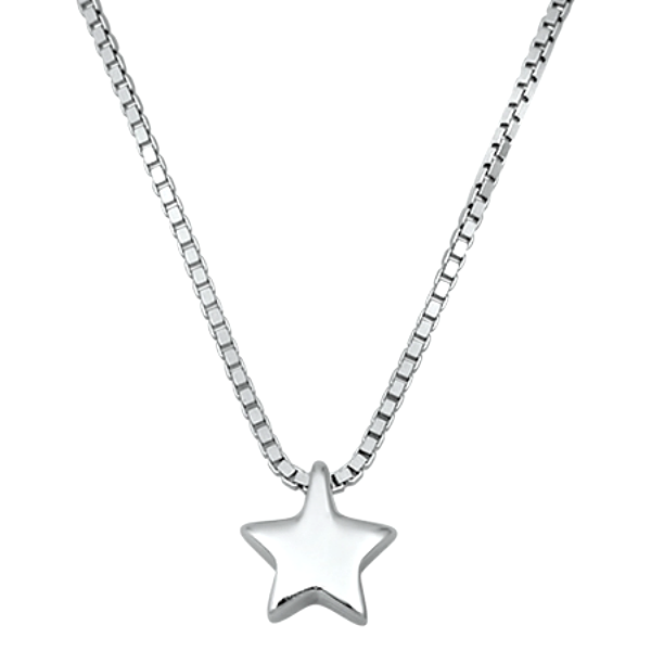 Womens and girls star necklace