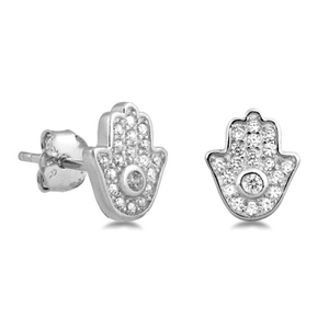 Womens and girls Hamsa Hand of God earrings