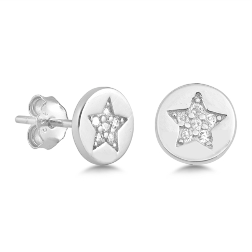 Womens and kids star earrings