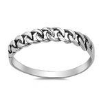 Womens and kids curb chain ring