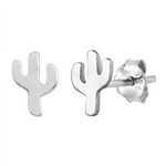Womens and girls Saguaro cactus earrings