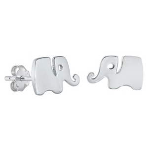 Womens and girls elephant earrings