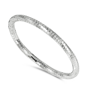 Diamond cut band