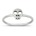 Womens and girls skull ring