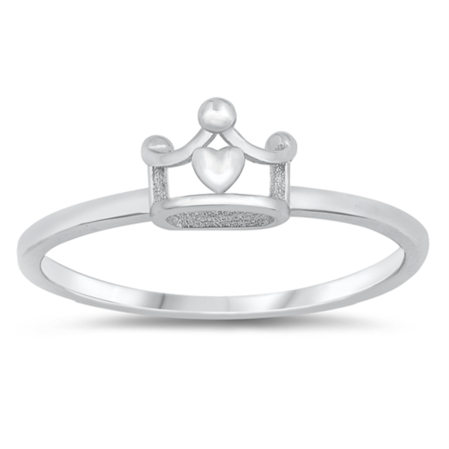 Womens and girls crown ring