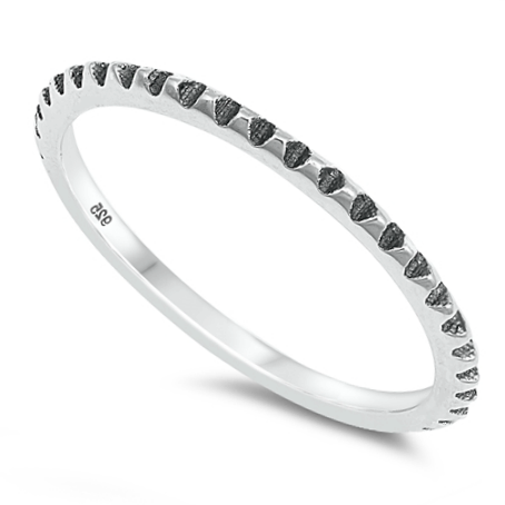 Womens midi band ring