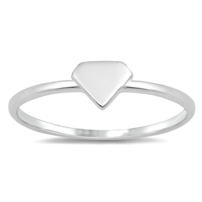 Diamond shaped ring