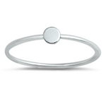 Womens and girls little circle ring