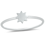 Womens and girls star starburst ring
