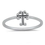 Womens and girls cross ring