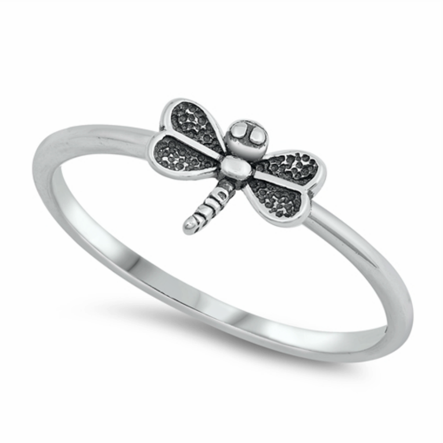Womens and girls dragonfly ring