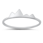 Womens and girls mountain ring