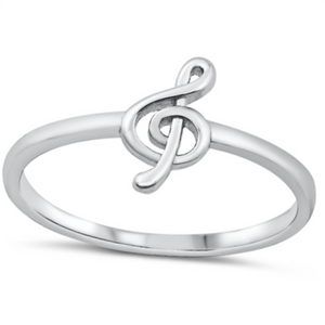 Musical note ring