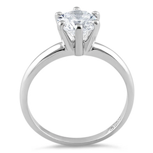 Womens bridal engagement ring