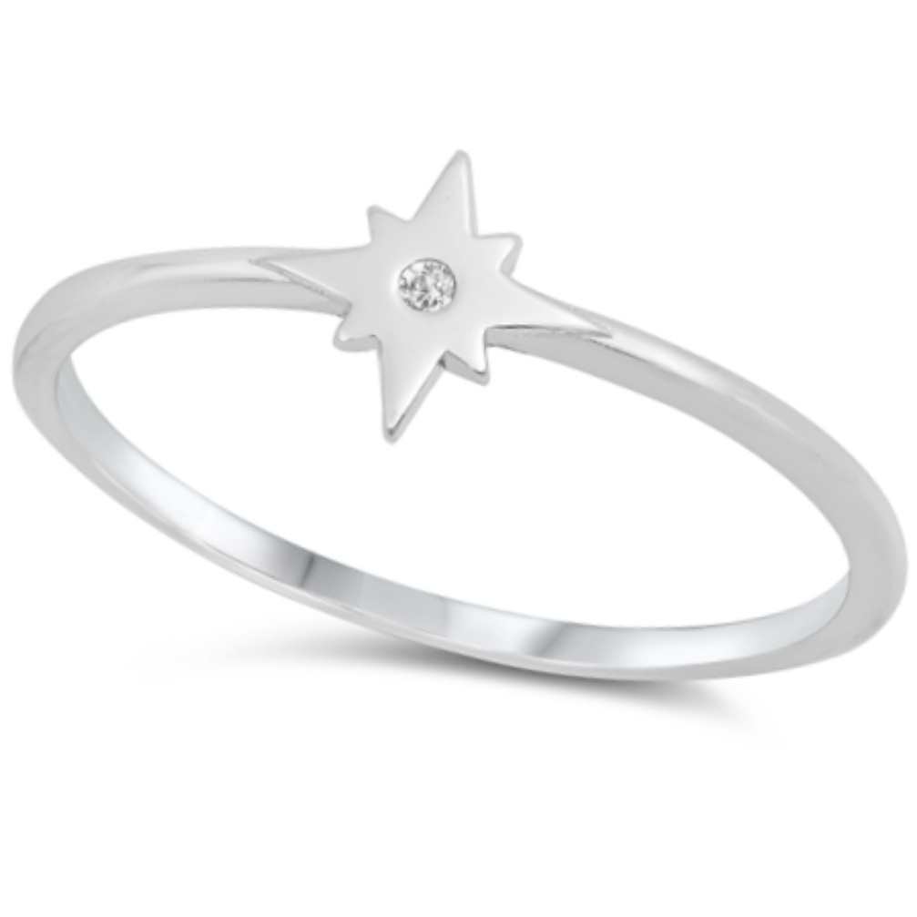 Womens and girls starburst ring