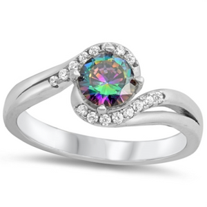 Womens unique engagement ring
