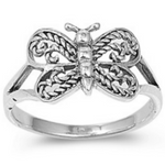 Baby Kids and Womens Butterfly Ring