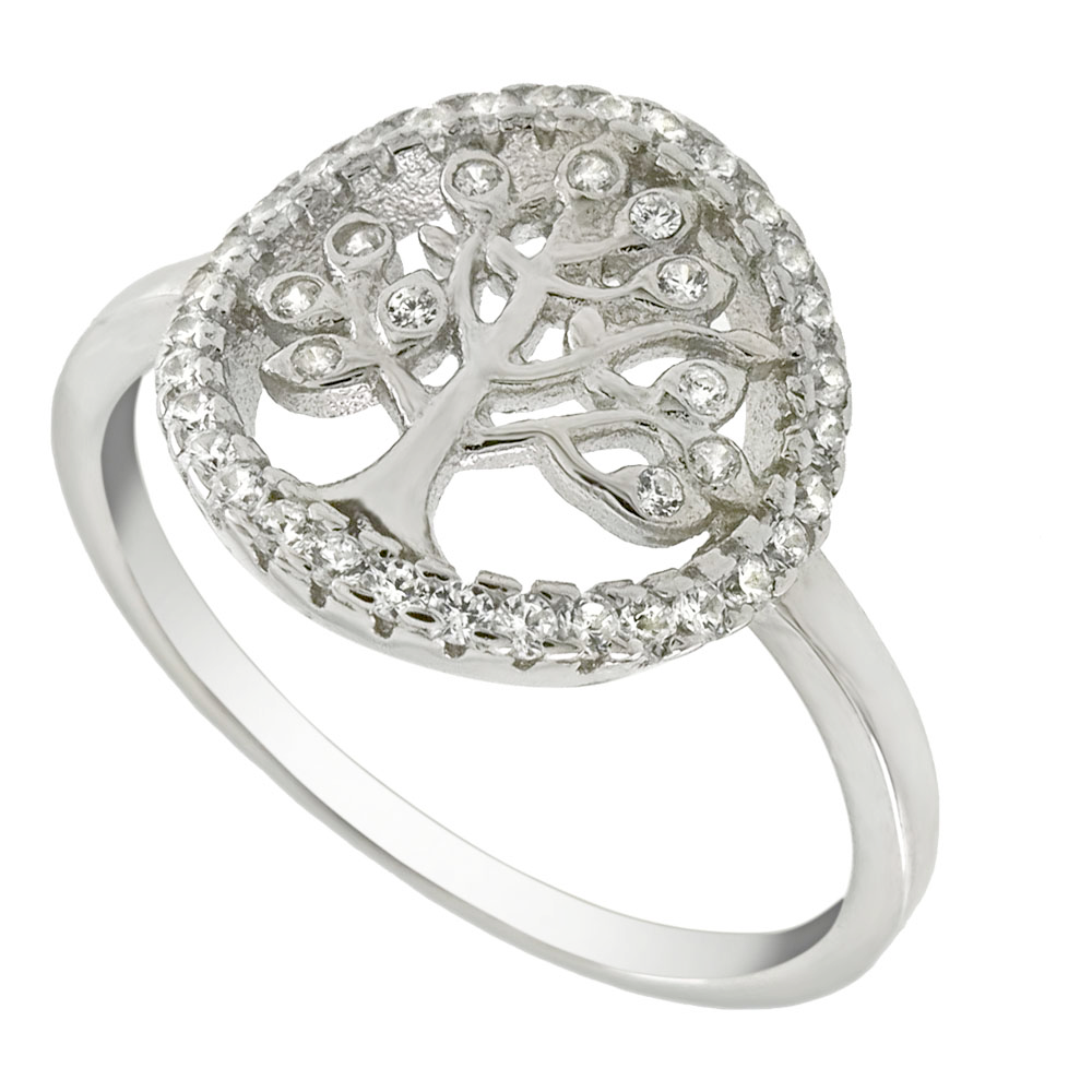 Womens and girls tree of life ring