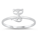 Womens and girls cat ring