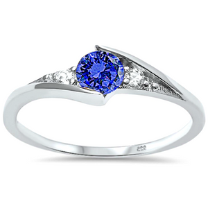 Women's and girls September birth stone ring