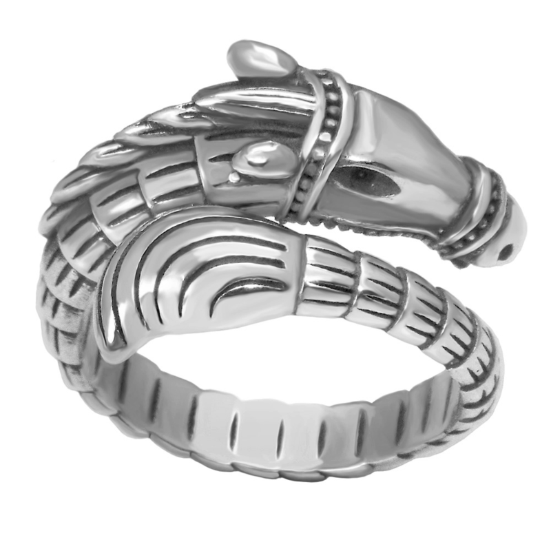 Viking horse ring size 5-10