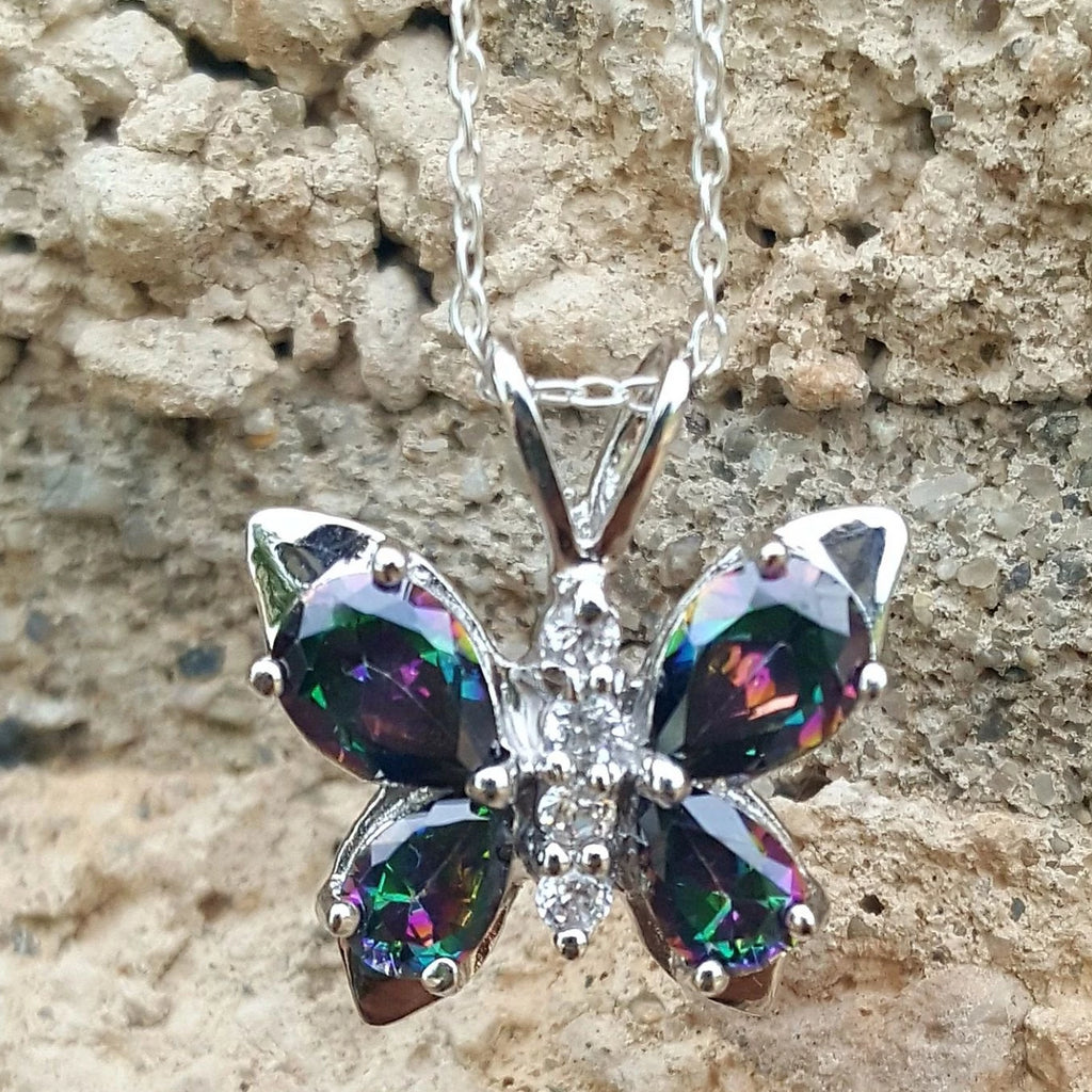 Womens and girls butterfly chain