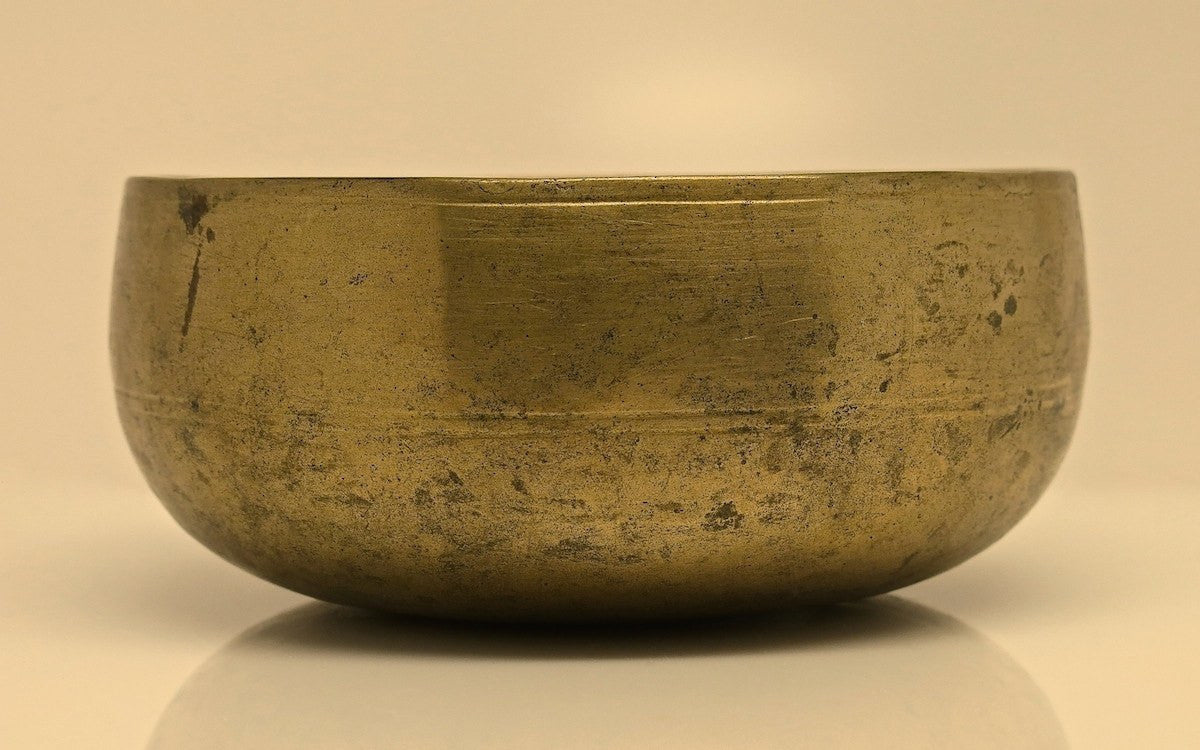 Antique Tibetan Singing Bowl - Antique Singing Bowl 4.25""