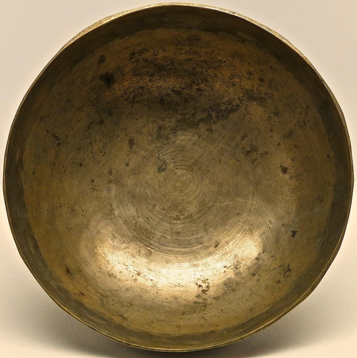 Antique Tibetan Singing Bowl - Antique Singing Bowl 6""