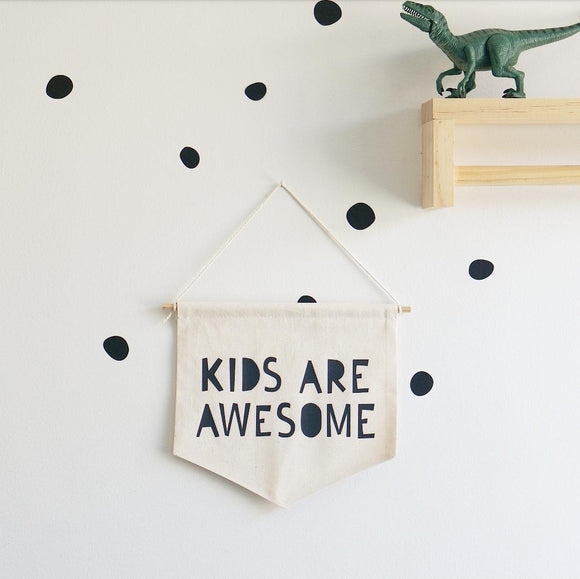 'Kids Are Awesome' Banner