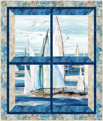 PS432 The Regatta - Small Quilt