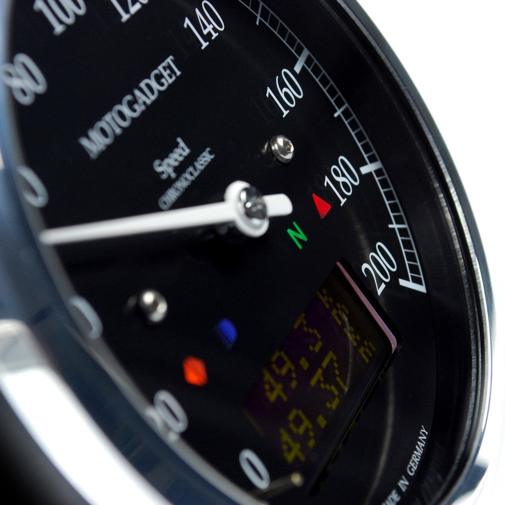 Motogadget Chronoclassic Speedo DarkEdition