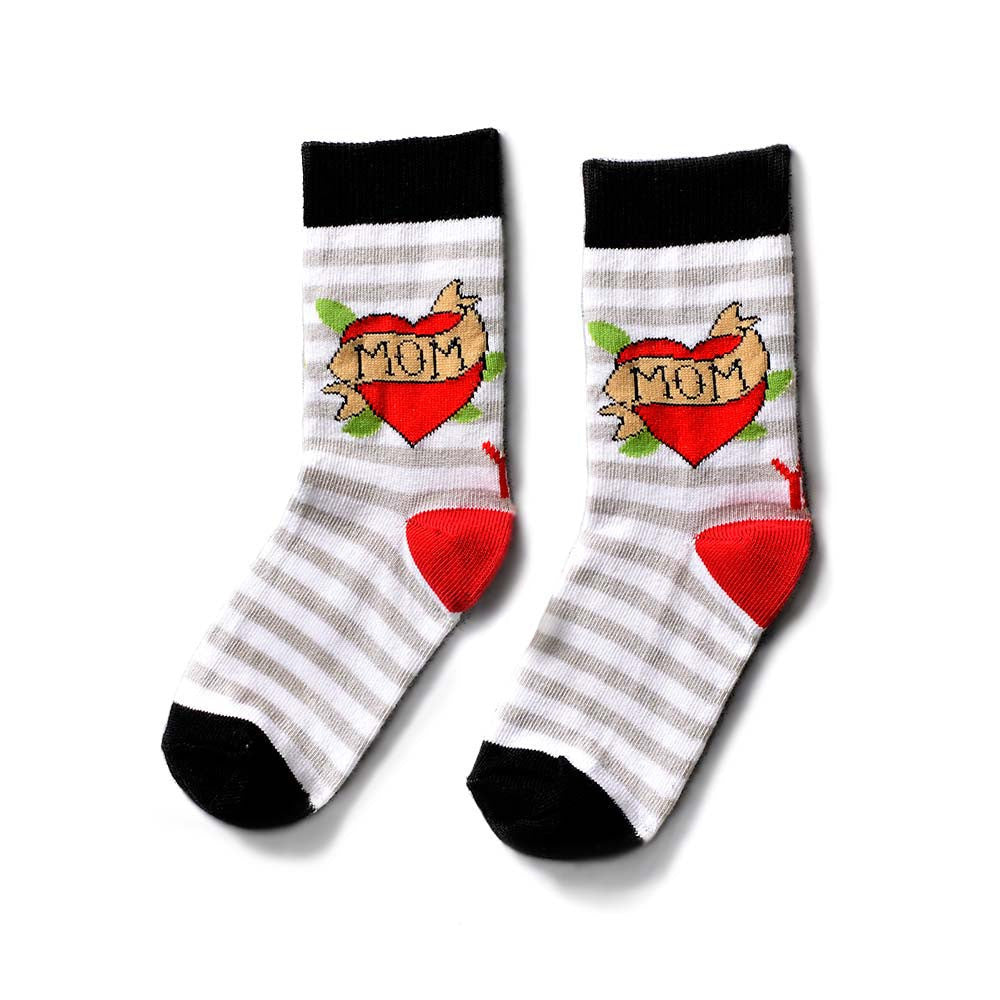 MOM kid's crew socks