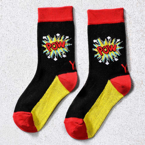 POW Children's Crew Socks