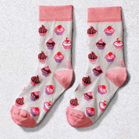 Cupcakes Children's Crew Socks