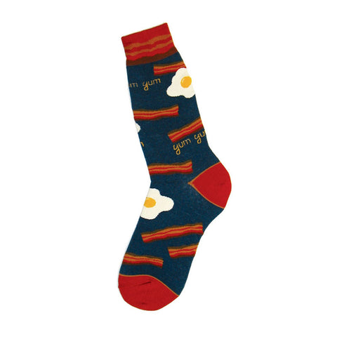 Bacon & Eggs Men's Crew Socks