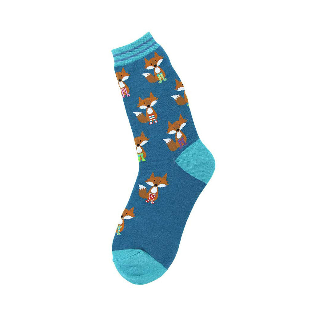 Fox in Socks Women's Crew Socks