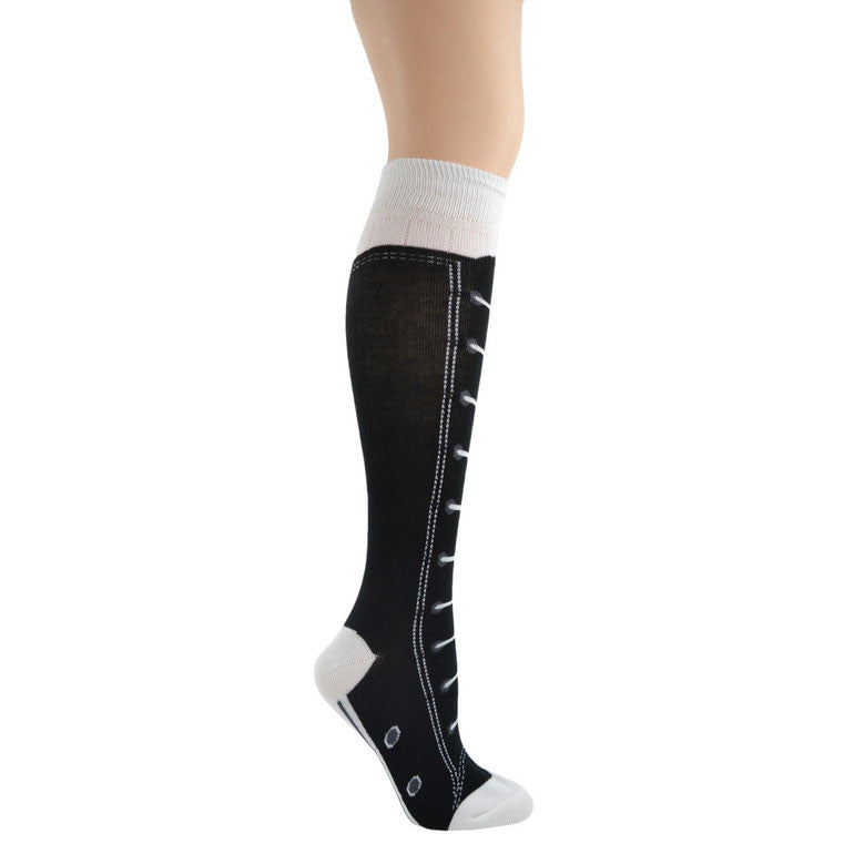 Sneakers Knee High Socks