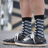 Arroyo Black Men's Crew Socks