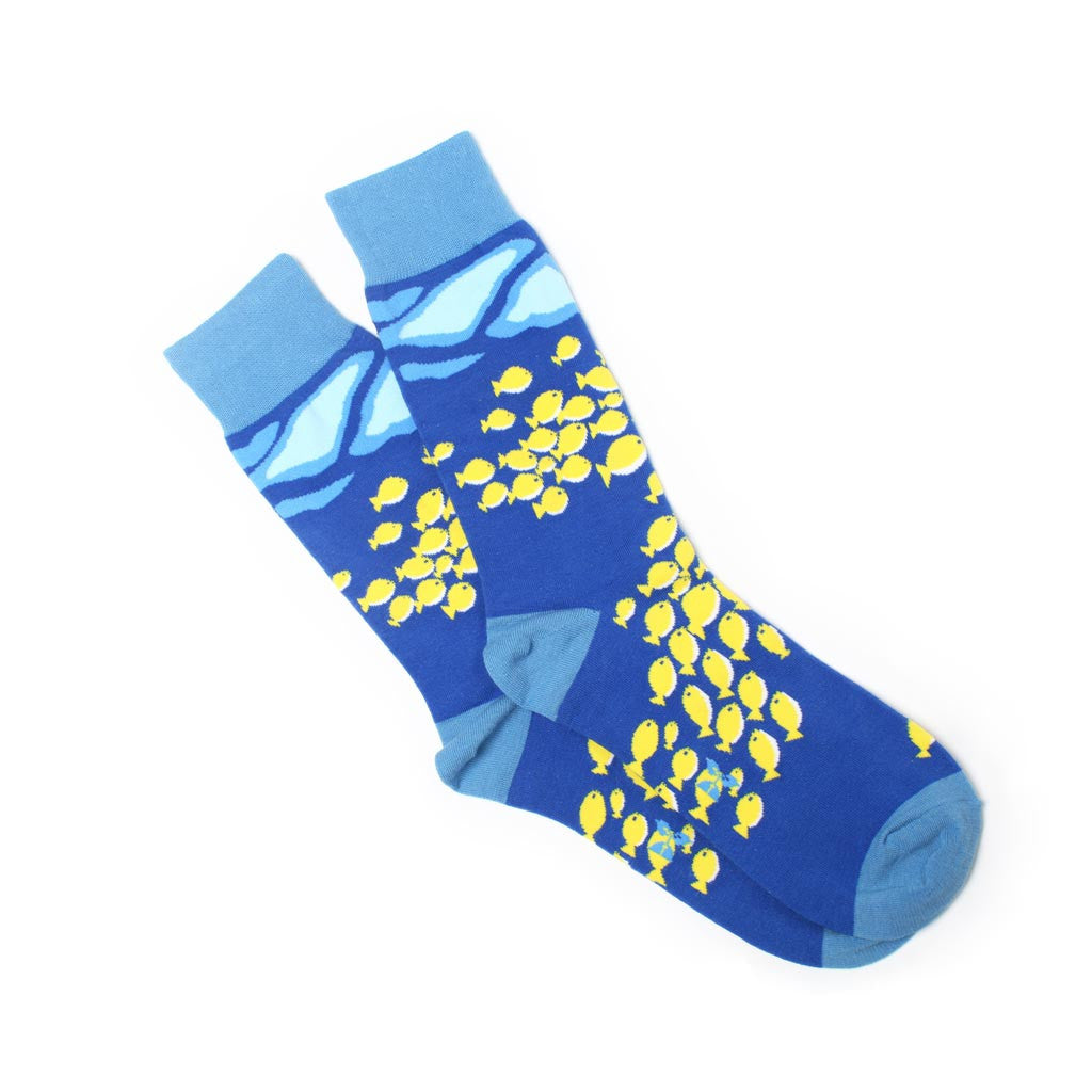 Ocean Current Men's Crew Socks