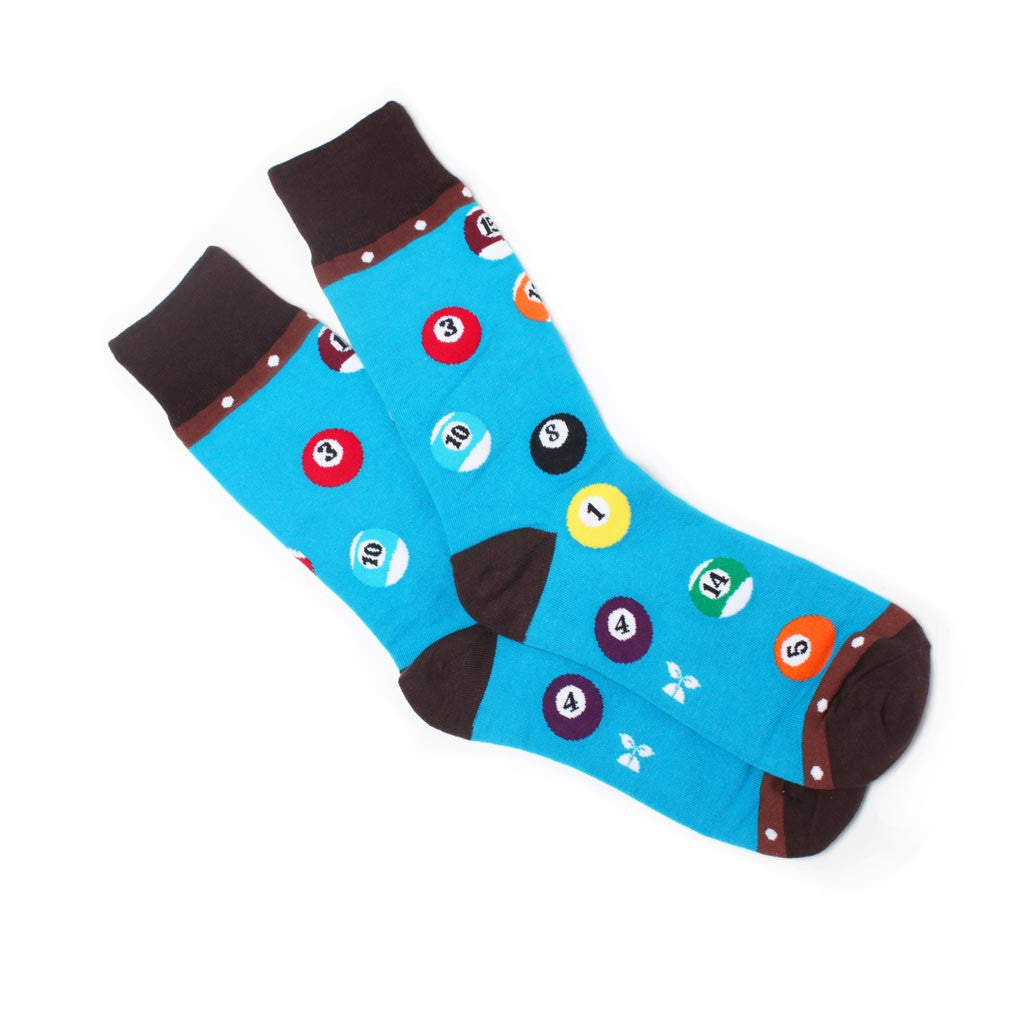 Billiards Men's Crew Socks