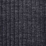 Middle Grey Wool Blend Ribbed Over-the-Knee Socks Swatch